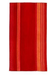Arkhipelagos Stripes Beach Towel (Red)