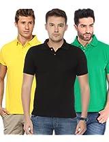 Concepts Men's Casual Shirt (TSHT_C3_GRBKYW_Multi_40)