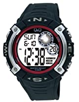 Q&Q Standard Dual Time Digital White Dial Men's Watch M065-004