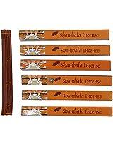 Potala Shambala Incense Sticks (612 gm, Brown, Pack of 6)