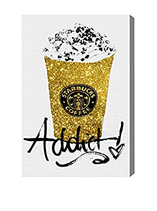 Oliver Gal Glitter Fuel Canvas Art