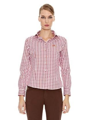 Spagnolo Camisa Villela Estoque (Burdeos / Blanco)