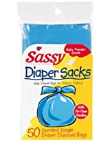 Sassy Disposable Scented Diaper Sacks 50 Cnt Pack By Sassy