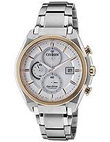Citizen Eco-Drive Analog White Dial Men's Watch CA0356-55A