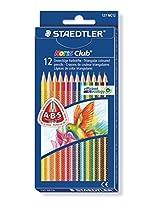 STAEDTLER Noris Club Triangular 12 colour pencils set