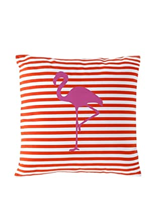 Shiraleah Miami Flamingo Pillow, Orange