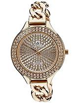 Daniel Klein Analog Silver Dial Women's Watch - DK10572-1