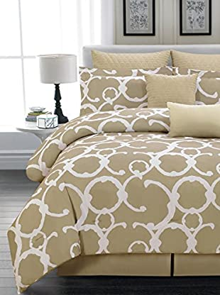 Duck River Textile Rhys Hotel 8-Piece Quilted Overfilled Comforter Set