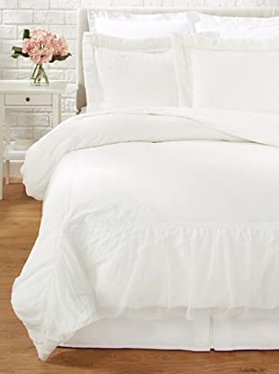Mélange Home Shira Embroidered Duvet Set