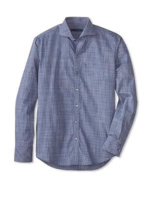 Zachary Prell Men's Young Long Sleeve Shirt (Denim)