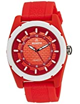 Aveiro Analog Red Dial Men's Watch - AV74RED