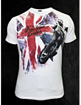 Pepe Jeans Flag And Rider White T-Shirt