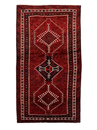 Authentic Persian Rug, Red, 3' 11