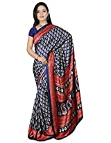 Kothari Saree (KT0100MB_Navy Blue)