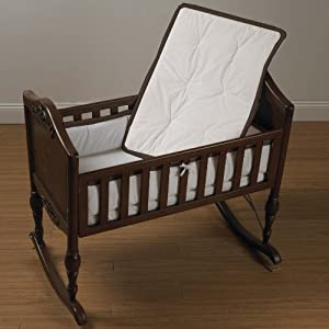 Baby Doll Bedding Minky Diamond Mini Crib/ Port-a-Crib Bedding Set, Chocolate