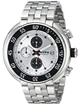 red line Men's RL-50038-22S Driver Analog Display Japanese Quartz Silver Watch