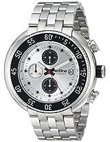 red line Men's RL-50038-22S Driver Analog Display Japanese Quartz Silver Watch