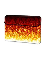 Fire and light 13 inches sleeves for Macbook