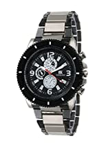 Iik Collection Analogue Black Dial Men's Watch-Iik039M