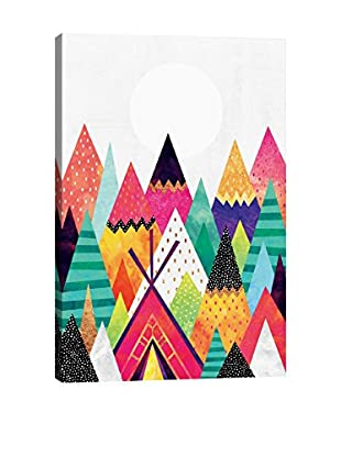 Elisabeth Fredriksson Land of Color Canvas Print