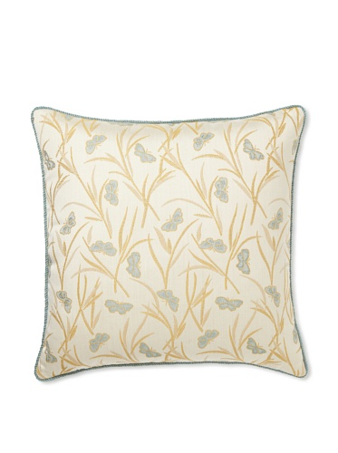 Elsa Blue Butterfly with Cord Indoor/Outdoor Pillow, 20