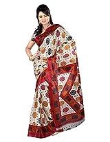 Parichay Women's Silk Saree(Magenta)