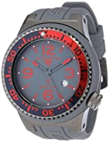 Swiss Legend Watches, Men's Neptune Grey Dial Grey Silicone, Model 21818S-B-CB