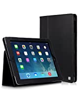 CaseCrown Bold Standby Case (Black) for iPad 4th Generation with Retina Display iPad 3 & iPad 2 (Built-in magnet for sleep / wake feature)