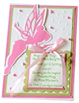Tinkerbell Inviations 25 pack