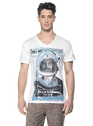 Zu-Elements Camiseta Kiefer (Blanco)