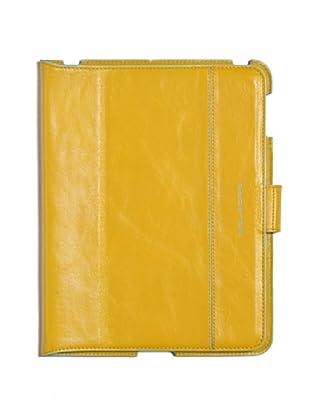 Piquadro Custodia iPad (giallo/turchese)