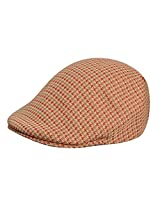 Kangol Men'S Basset Check 507 Cap, Beige,