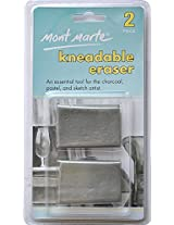 Mont Marte Kneadable Erasers Clamshell MAXX0004 2Pc