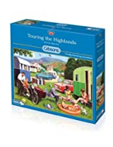Gibsons 500 Pieces Touring The Highlands Jigsaw Puzzle By Gibsons