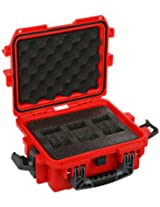Invicta DC3RED 3 Slot Red Plastic Box Watch Case