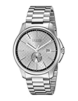 Gucci Mens YA126320 G-Timeless Analog Display Swiss Automatic Silver Watch