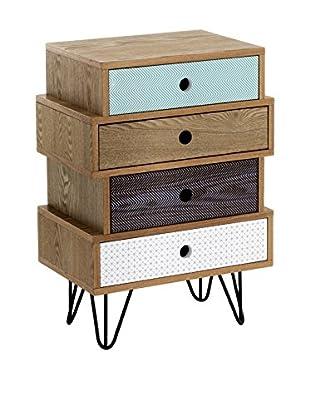 Contemporary Wood Schubladenschrank HIJO