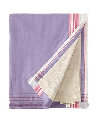 Nomadic Thread Society Surf Sarong Towel (Lavender/White)