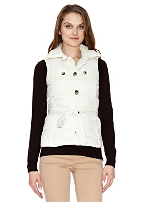 Tommy Hilfiger Chaleco Marie Quilted (blanco)