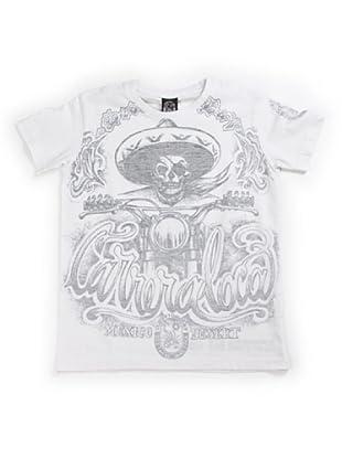 Scorpion Bay Camiseta Calavera (Blanco)