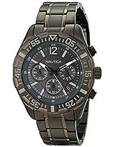 Nautica Men's N22634G NST 402 Analog Display Quartz Grey Watch
