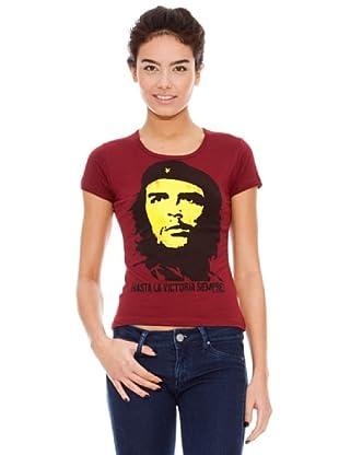 Logoshirt Camiseta Che Guevara - Vintage (Rojo)