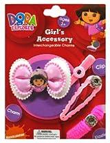 Disney Dora On Pink Polka Bow