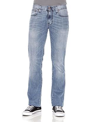 Nudie Jeans Pantalón Slim Jim (Azul claro)