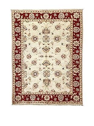 L'Eden del Tappeto Teppich Zeigler ecru/rot 198t x t149 cm