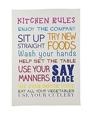 Panel Decorativo Kitchen Rules Multicolor
