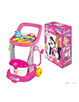 Barbie Doctor Trolley, Multi Color