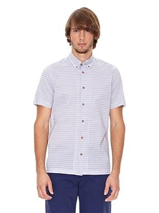 Ben Shermann Camisa Rayas Virgil (Azul / Blanco)