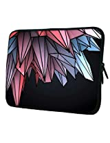 """Snoogg colorful crystals 2607 15"""" inch to 15.5"""" inch to 15.6"""" inch Laptop netbook notebook Slipcase sleeve Soft case cover bag notebook / netbook / ultrabook carrying case for Macbook Pro Acer Asus Dell Hp Sony Toshiba"""