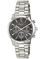 Kenneth Cole Dress Sport Analog Grey Dial Men'S Watch - 10022070
